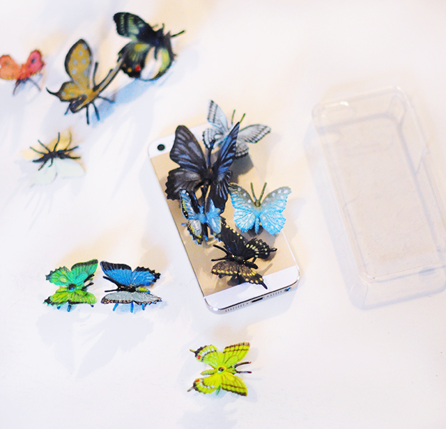 DIY Butterfly iPhone Case-2
