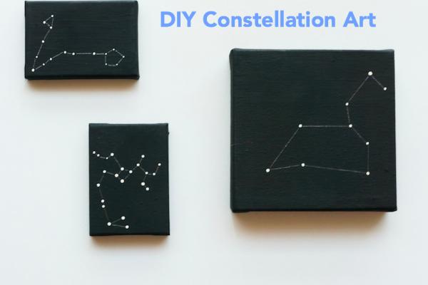 DIY Constellation Art projects
