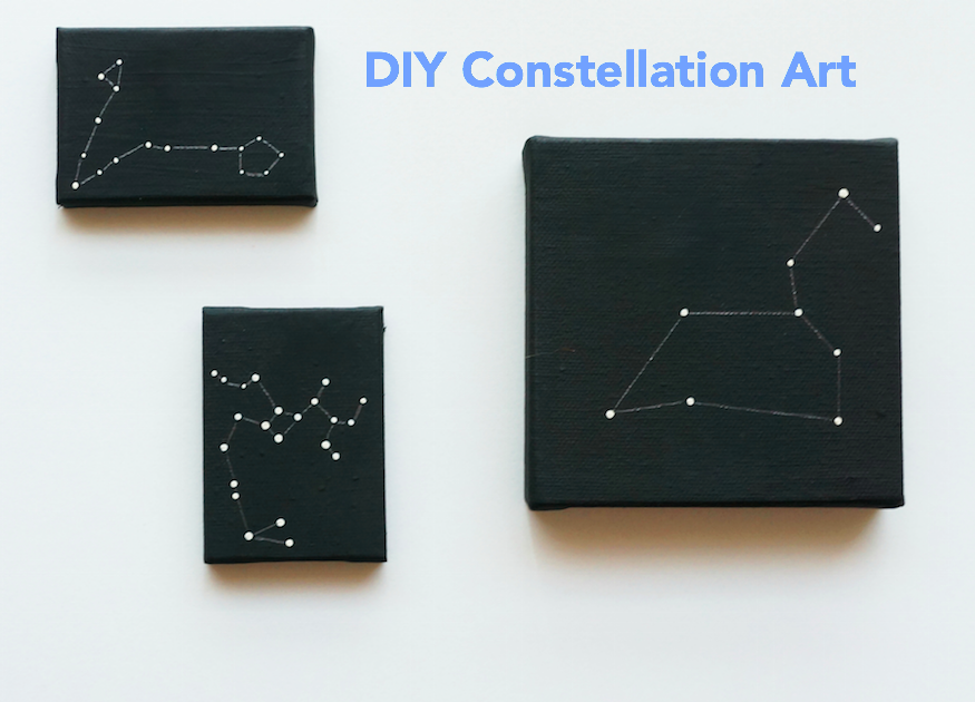 DIY Constellation Art projects