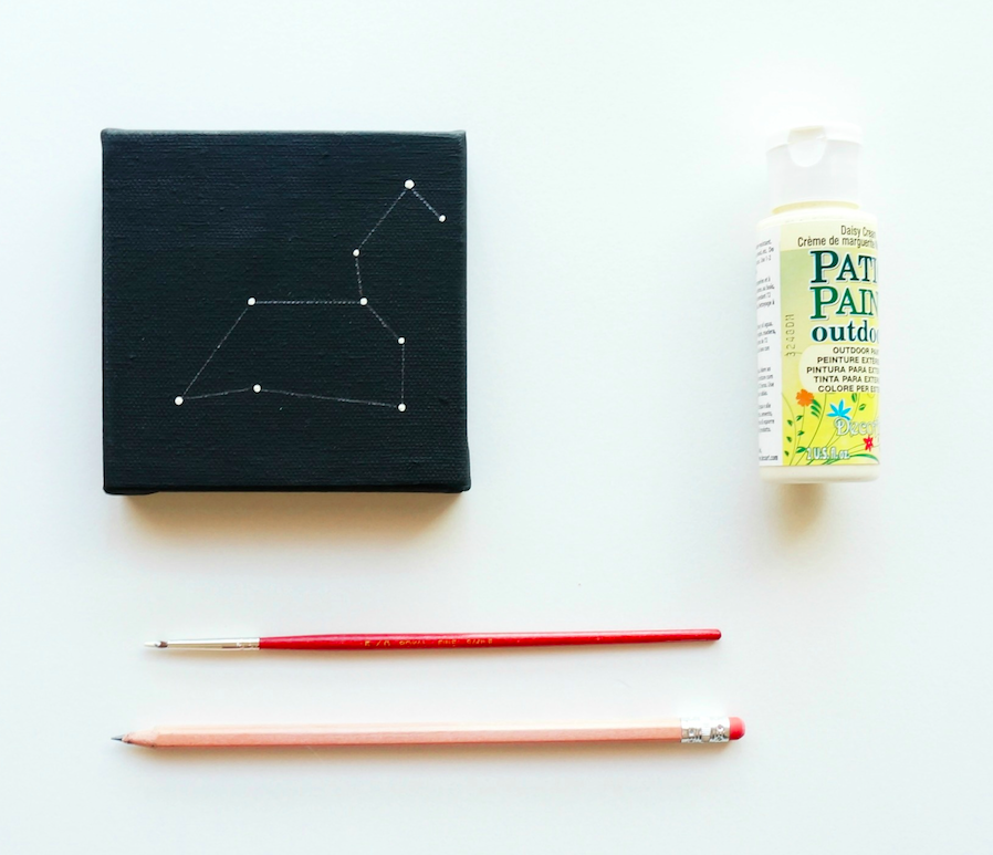 DIY Constellation art project