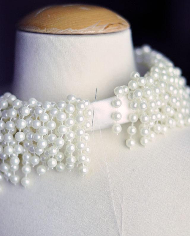 DIY Dior necklace -8