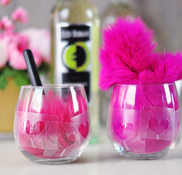 DIY Etched Wine Glasses - 3