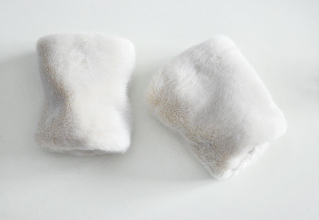 DIY Faux Fur Cuffs 12