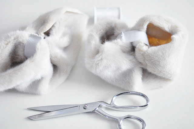 DIY Faux Fur Cuffs 8