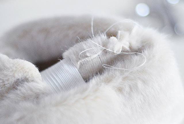 DIY Faux Fur Cuffs 9