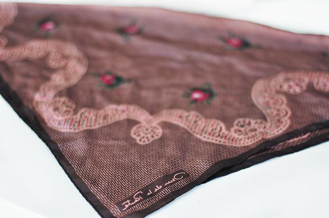 DIY Faux Fur Scarf necktie-2