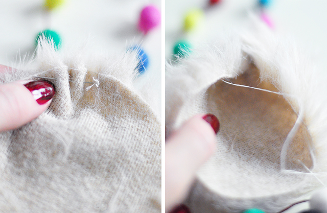 DIY Faux Fur and Feathers Bag Charms_4-1