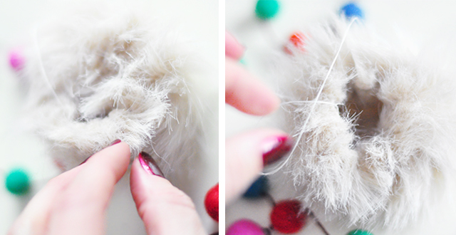 DIY Faux Fur and Feathers Bag Charms_6-1