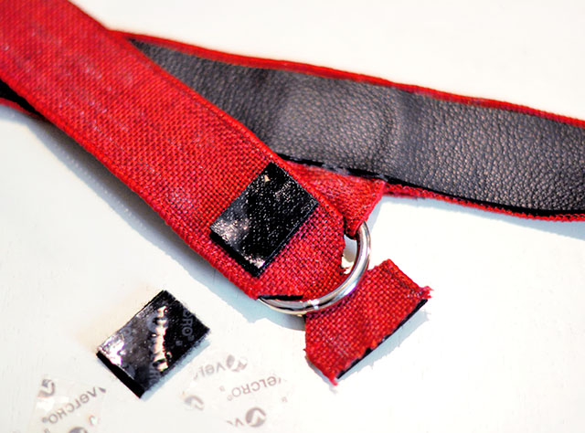 DIY Leather Harness - harley quinn arkham knight 14