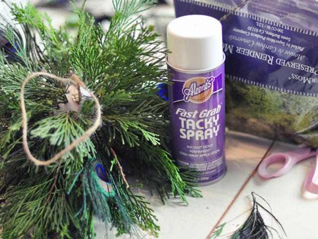 DIY Living Christmas ball decor-8