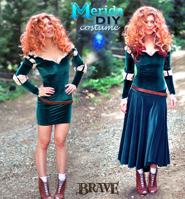 DIY Merida Costume-tutorial