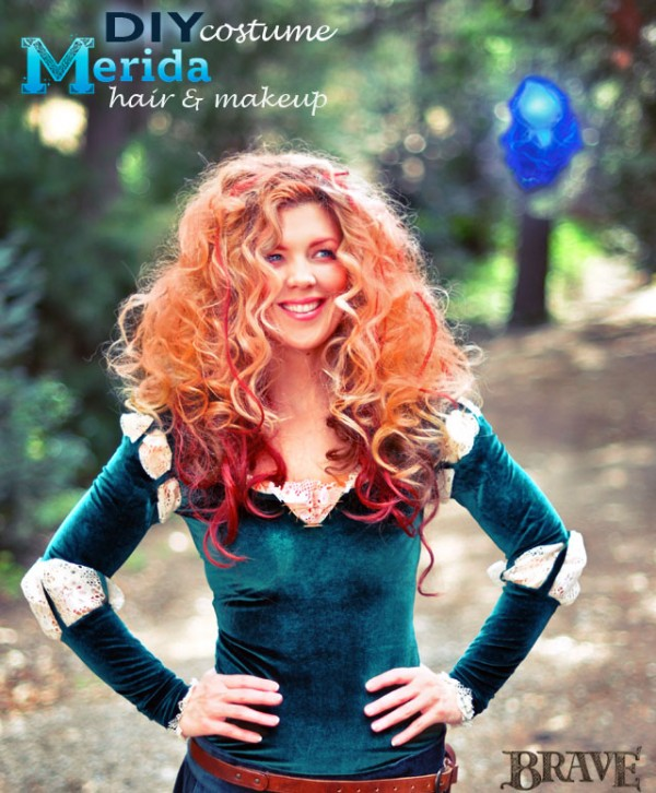 DIY-Merida-HAIR-and-Makeup-costume1