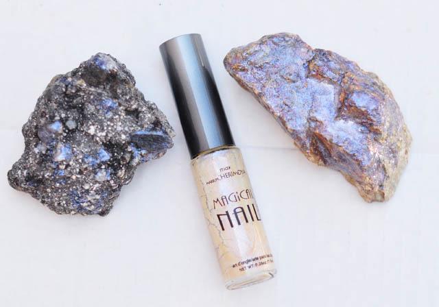 DIY Rock Crystals with nail polish