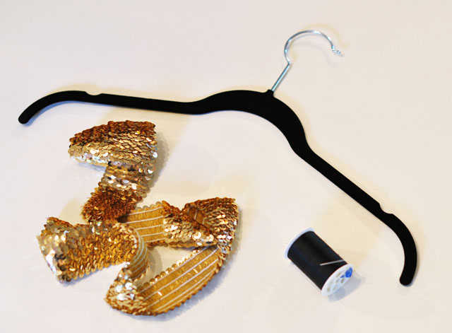 DIY Sequin Hanger-1