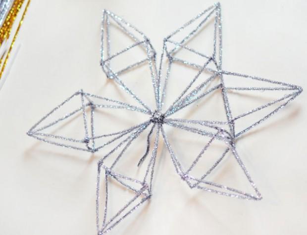DIY Snowflake Tree Topper-7