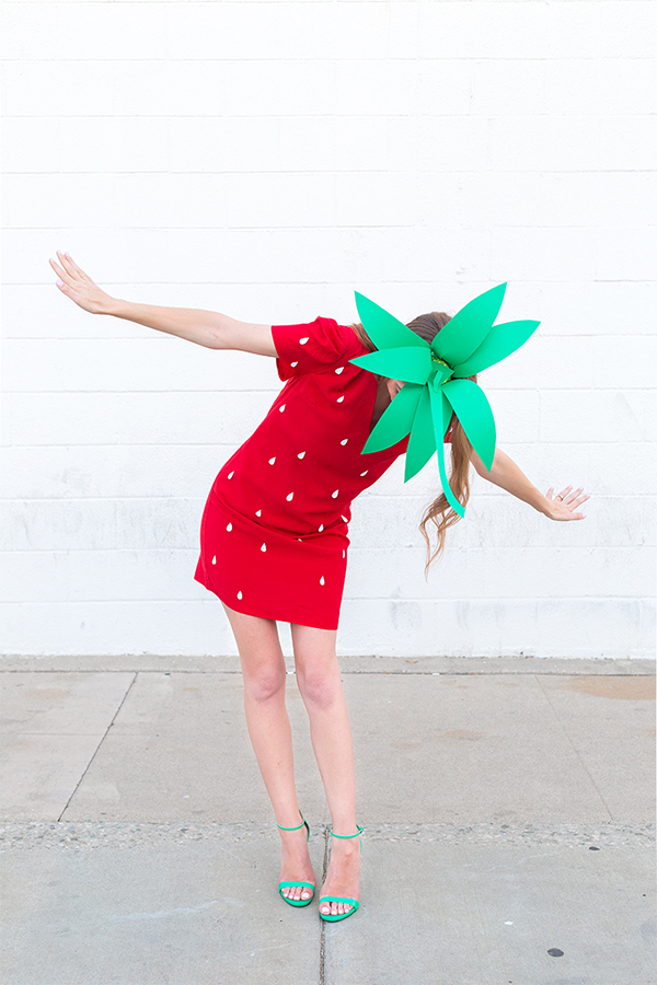 DIY-Strawberry-Costume