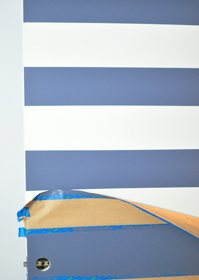 DIY Striped Door Makeover_11