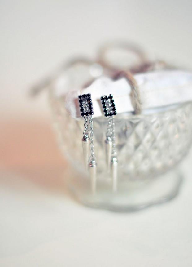 DIY Studded Drop Earrings-7