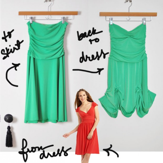 DIY Tinkerbell Costume-dress