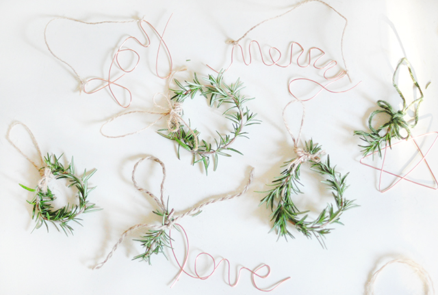 diy-wordsmith-ornaments-and-rosemary-wreaths