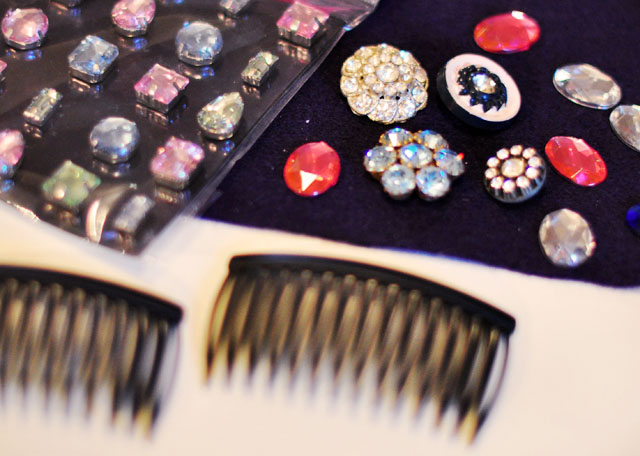 DIY-bejeweled-hair-combs-1