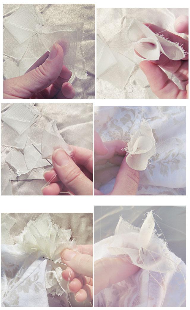 DIY petal flowers tutorial
