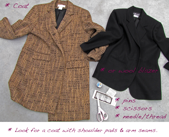 DIY sleeveless coat_duster vest 1