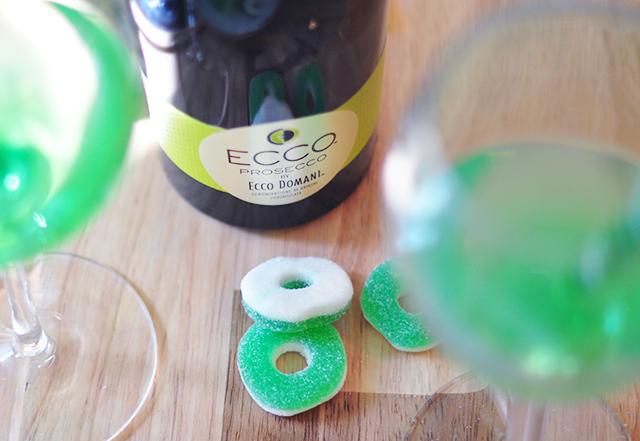 Ecco Domani Prosecco_Green Apple Cocktails