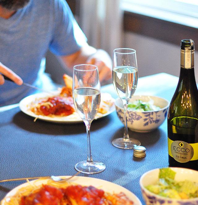Ecco Prosecco_Anniversary  Dinner_Chicken Parm