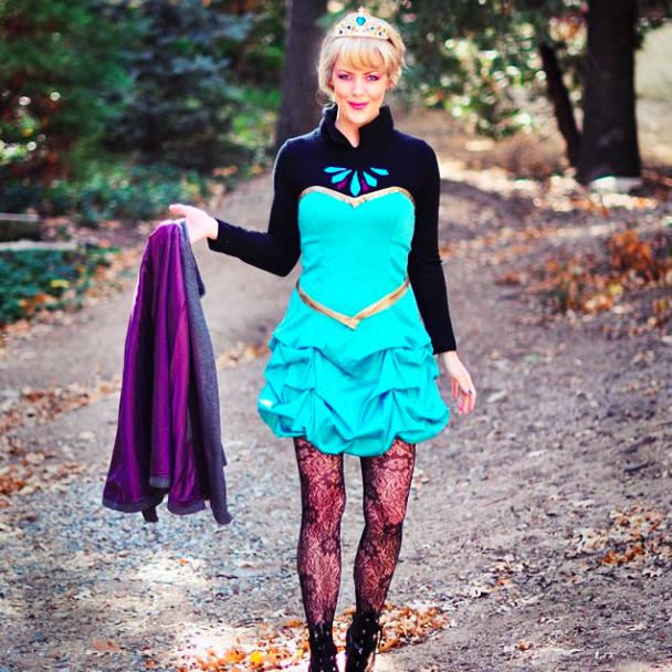 Elsa costume tutorial
