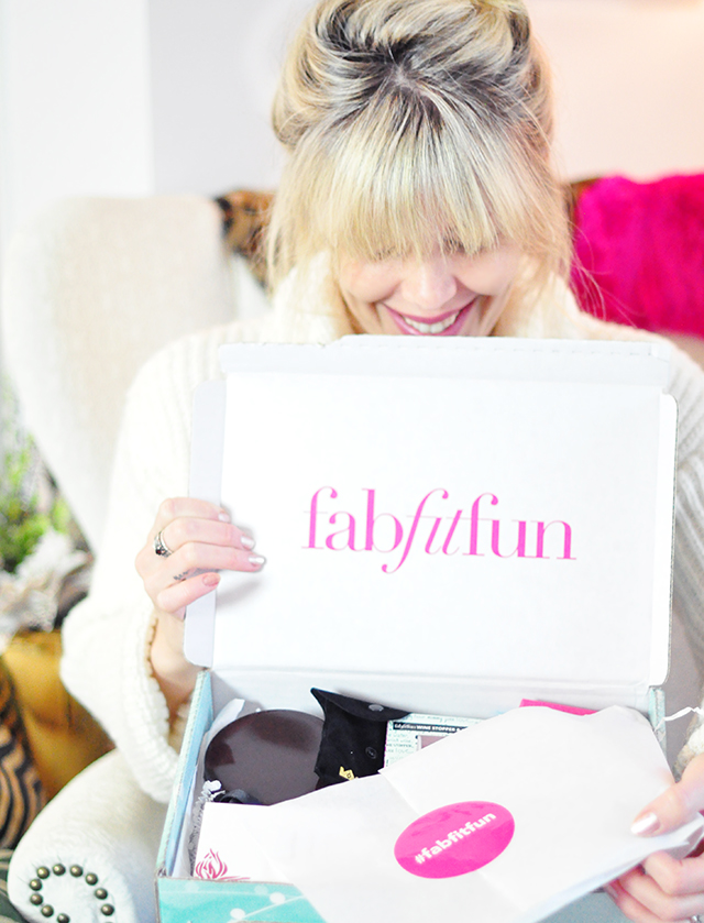 Fab Fit Fun winter 2015 box review