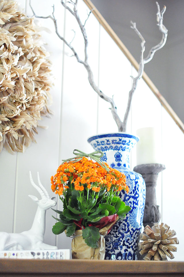 Fall decorating-