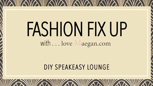 Fashion Fix up with Ace Paint Studio room makeover