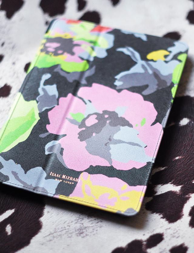 Floral ipad cover_Isaac Mizrahi