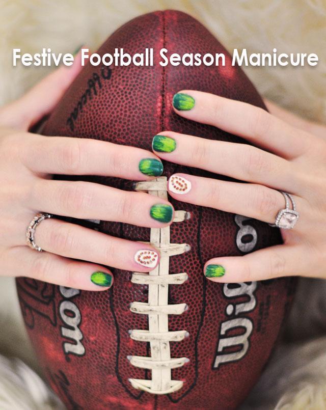 Football Season nails