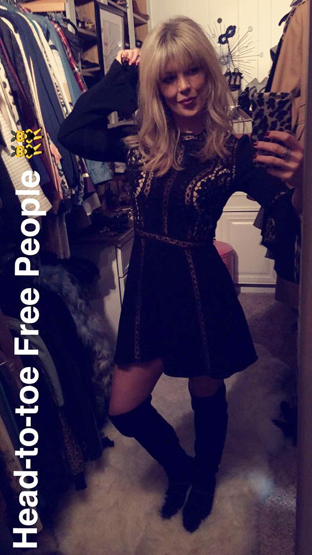 For love and lemons dress_snapchat closet ootd