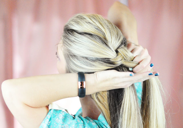 Frozen-Elsa Braid Hair Tutorial-3