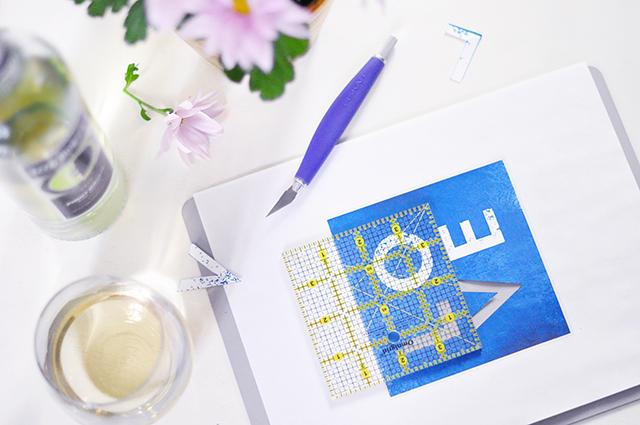GOLD LOVE print DIY_2