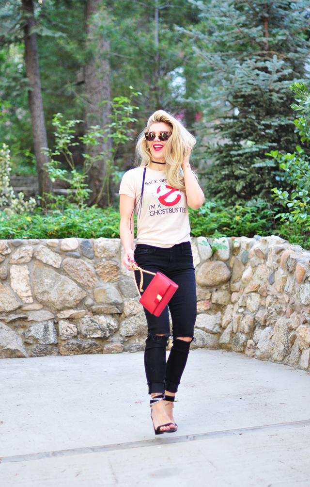 Ghostbusters t-shirt_black jeans