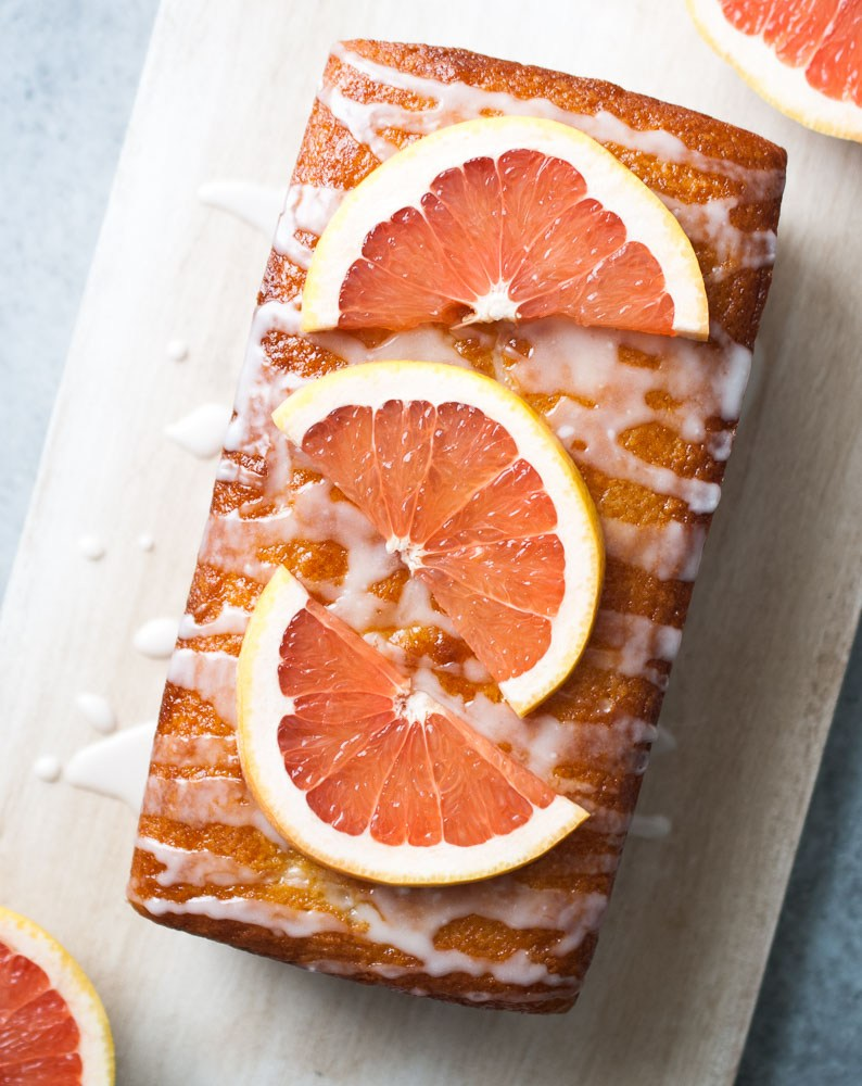 Grapefruit-Yogurt-Cake