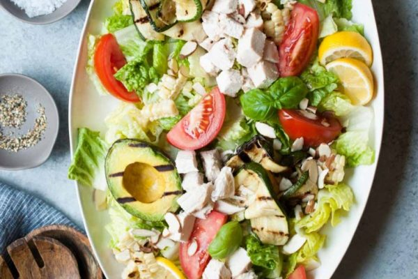 grilled summer salad