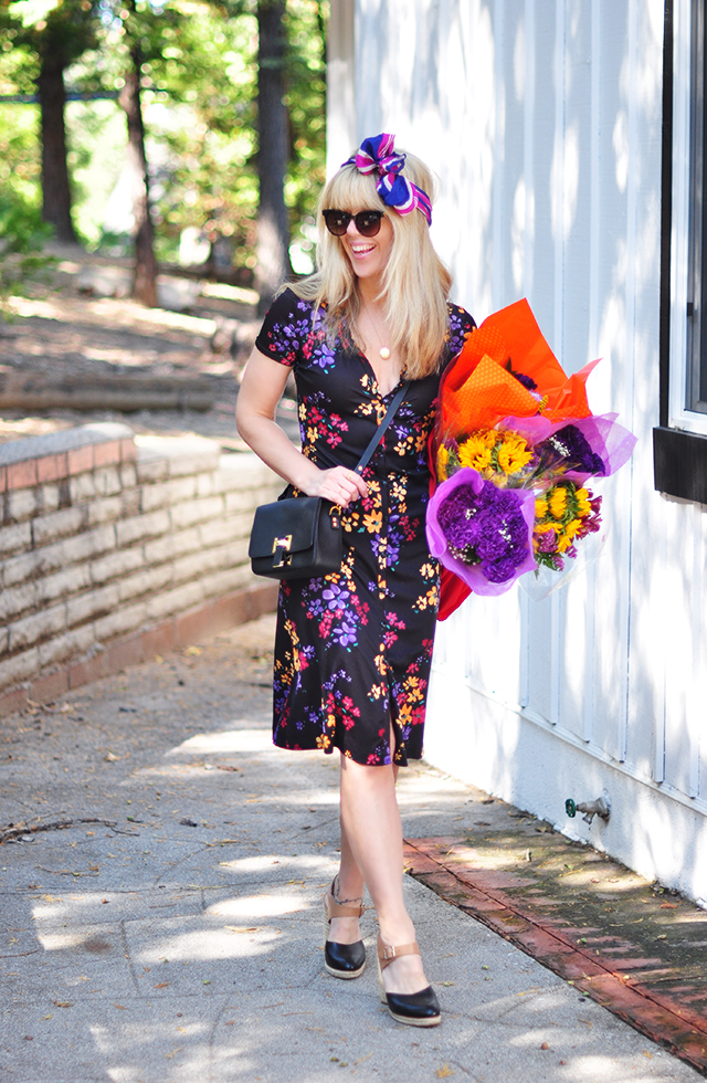 Grocery Store Flowers_Floral Dress