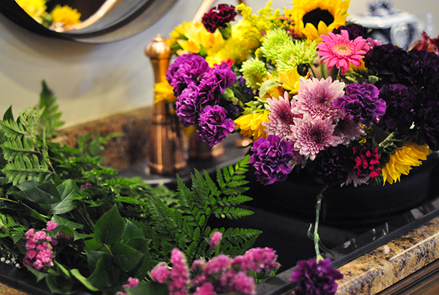 Grocery store flowers guide to centerpeices