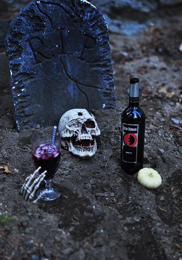Halloween_graveyard_Ecco Domani Merlot