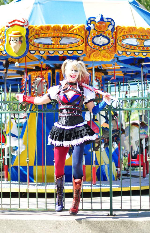 Harley Quinn DIY Costume_Arkham Knight_Carousel