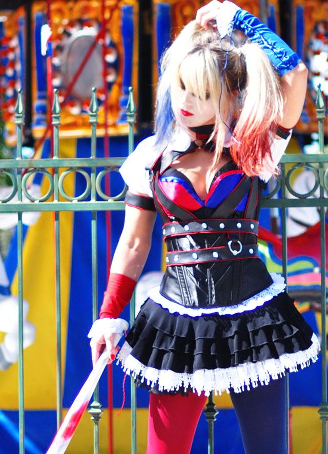 Harley Quinn_Arkham Knight_Batman_Theme Park