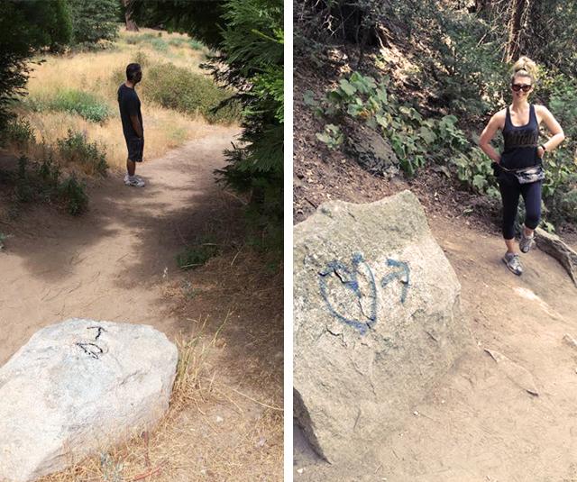Heart Rock Trail in Crestline Ca