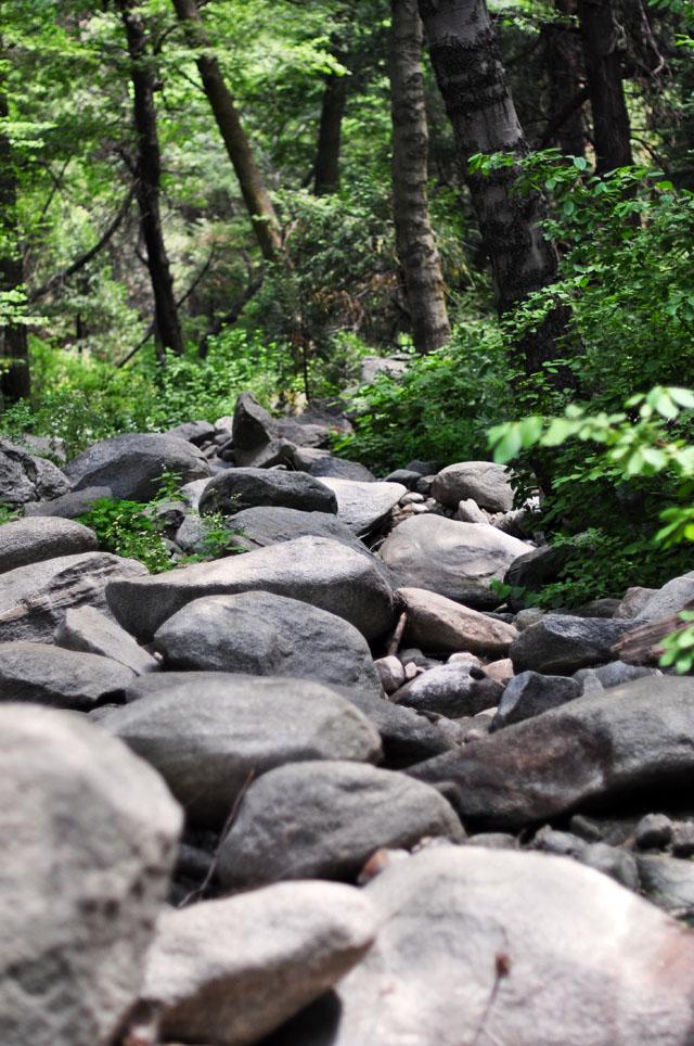 Heart Rock Trail in Crestline california