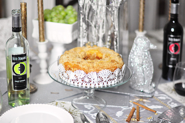 Holiday dessert table_Ecco Domani Wine