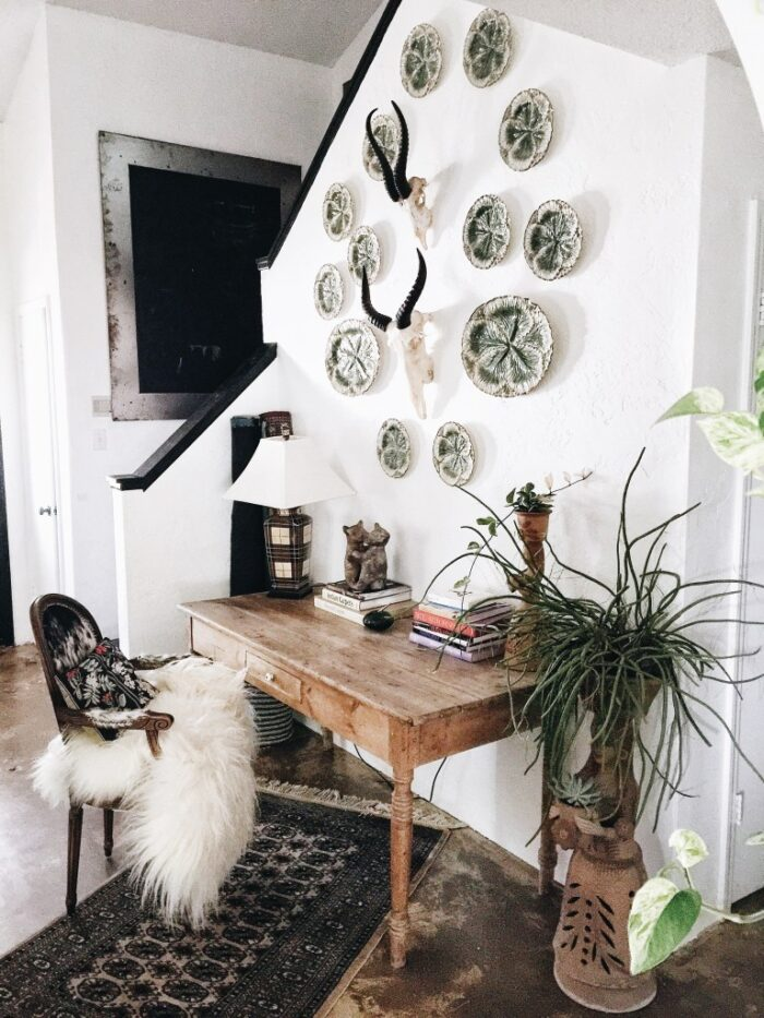 Eclectic home decor inspiration